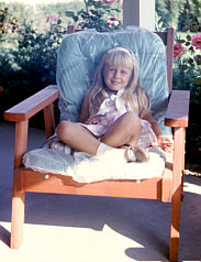 Me on our porch, 1966